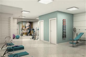 Perspectiva Ilustrada do Espaço Fitness