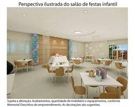 Perspectiva Ilustrada do Sala~o de Festas Infantil
