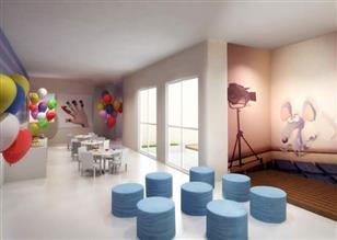Perspectiva ilustrada salão de Festas  Infantil