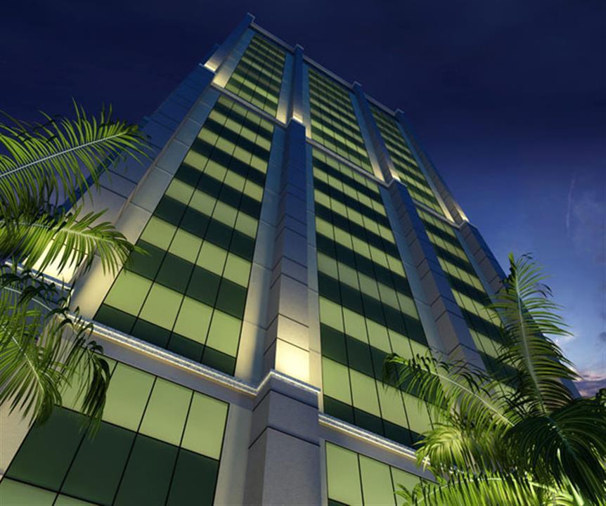 Fachada | Barra Prime Offices – Salas Comerciaisna  Barra da Tijuca - Rio de Janeiro - Rio de Janeiro