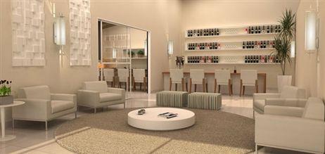 Perpsectiva Ilustrada do Lounge Bar