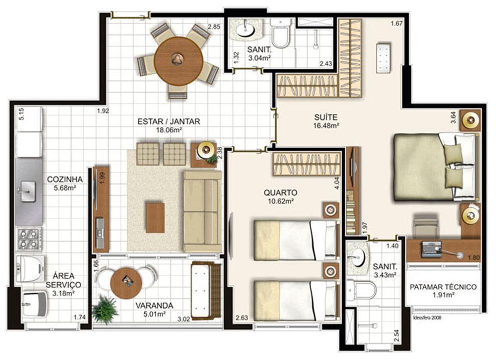 | Brisas Residencial Clube – Apartamentona  Paralela - Salvador - Bahia