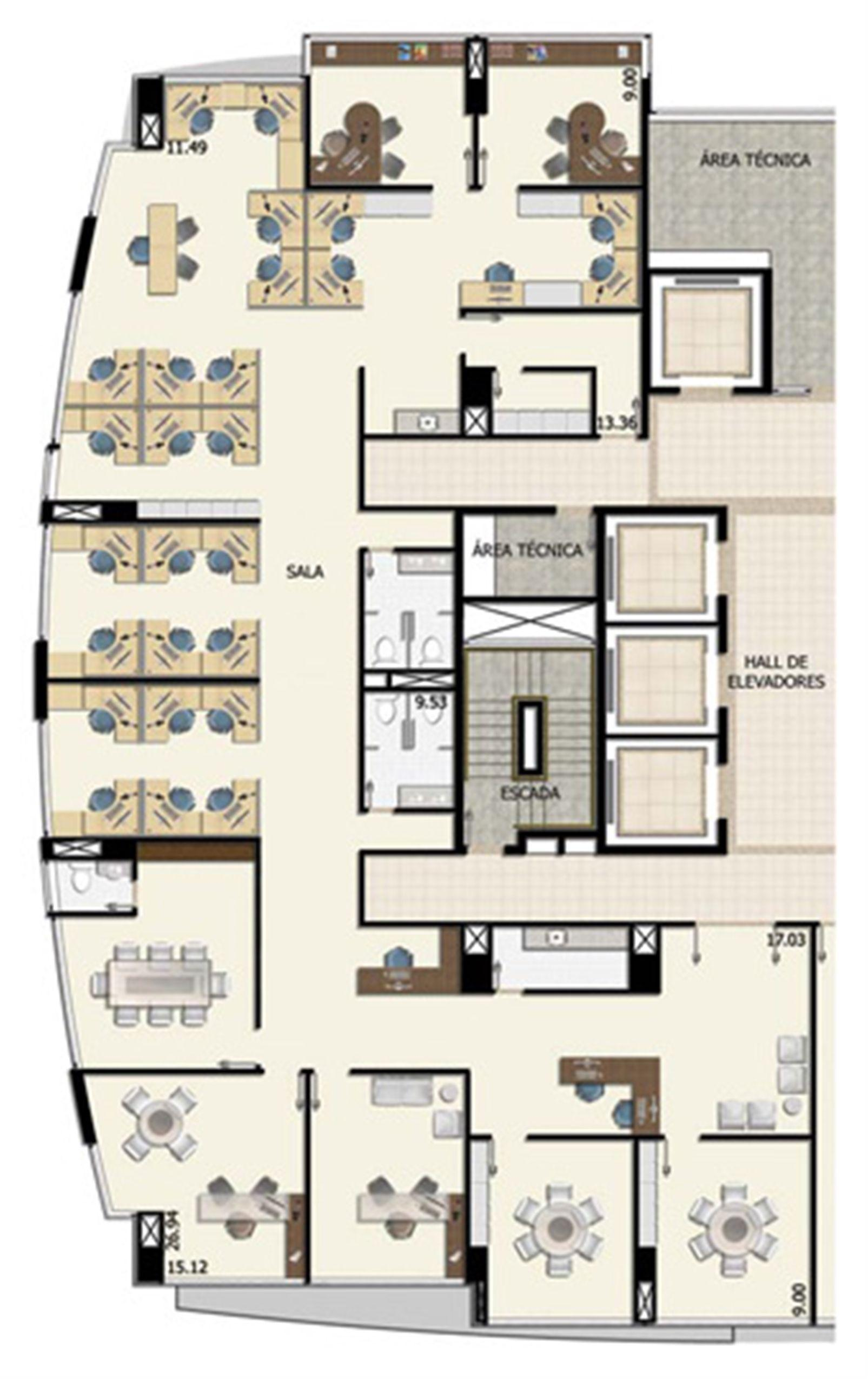 Conjunto corporativo meio andar - 333,85 m² | Salvador Shopping Business – Salas Comerciais  Ao lado do Salvador Shopping - Salvador - Bahia
