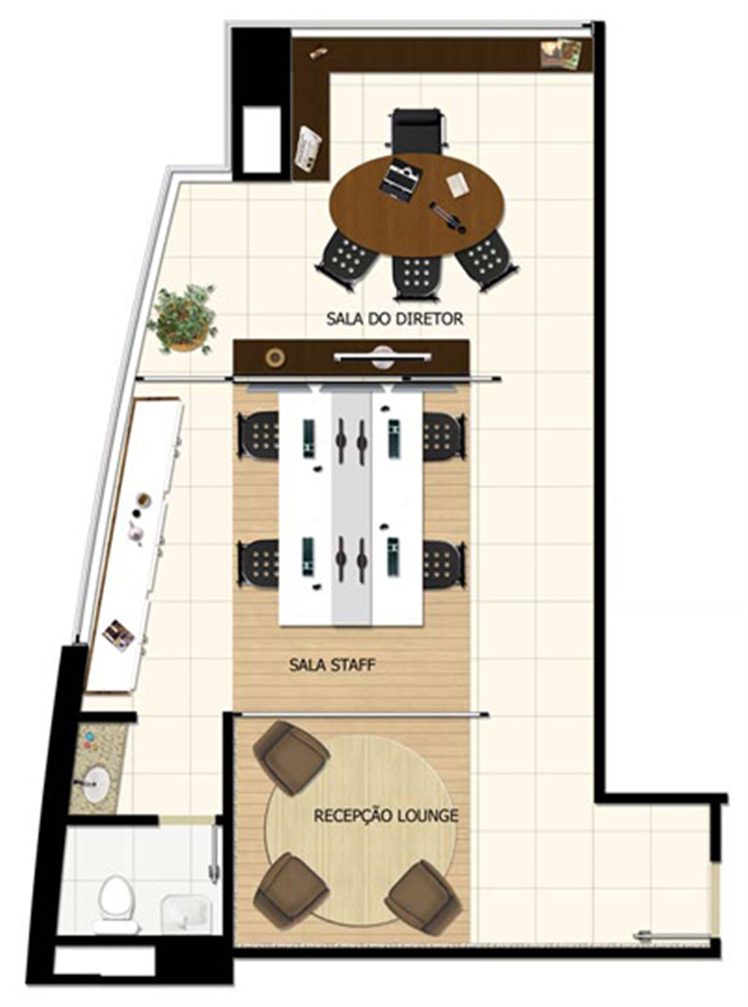 Planta Sala comercial 50,25 m² | Salvador Shopping Business – Salas Comerciais  Ao lado do Salvador Shopping - Salvador - Bahia