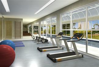 Perspectiva Ilustrada do Fitness Center