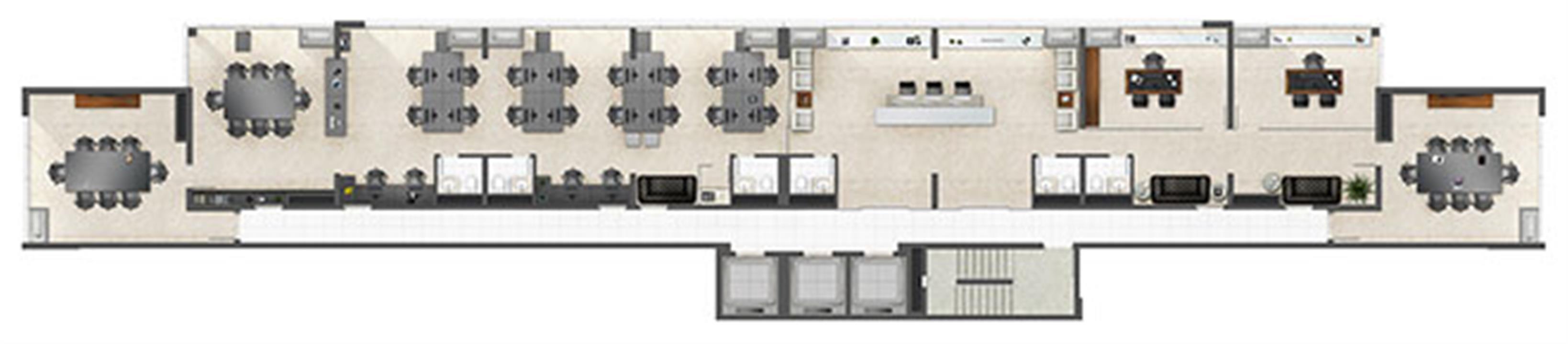 Junção comercial 352m² Advocacia | Axis - Office – Salas Comerciaisno  Altos de Petrópolis - Porto Alegre - Rio Grande do Sul