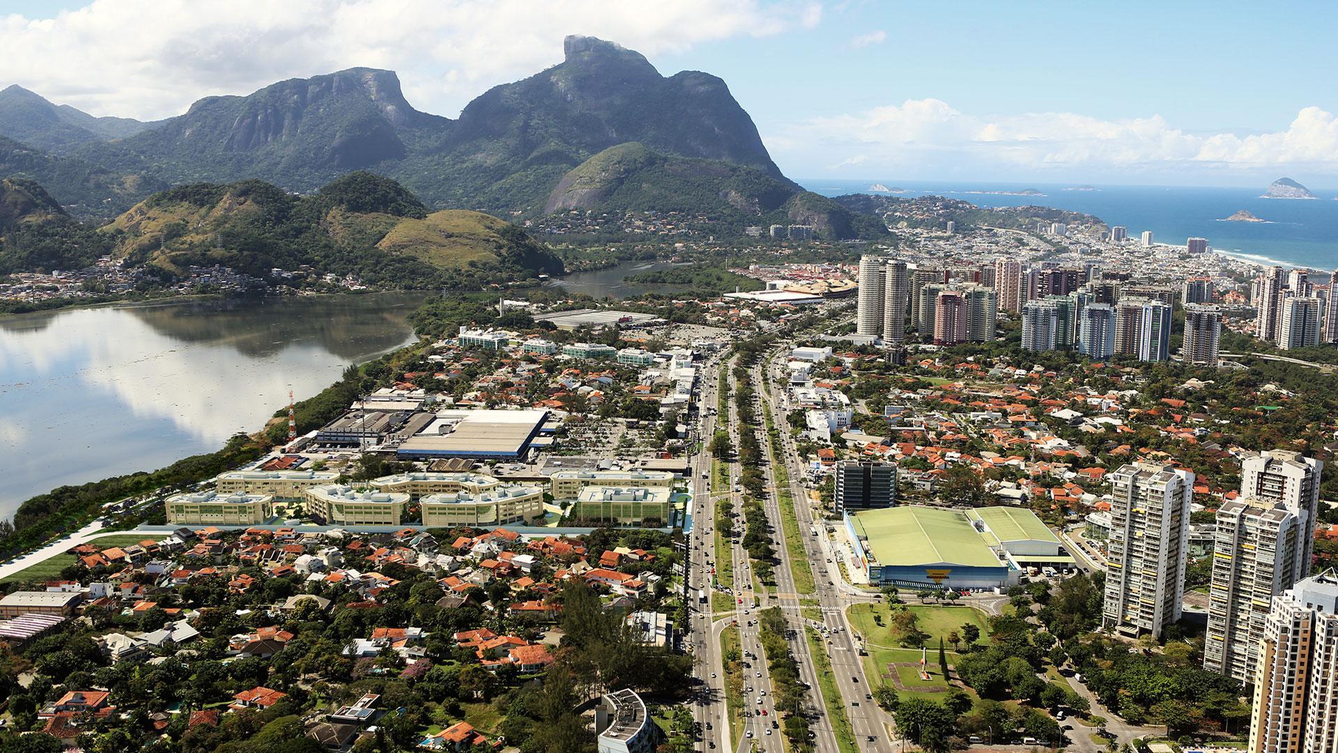 Fachada | Lead Américas Business – Salas Comerciaisna  Barra da Tijuca - Rio de Janeiro - Rio de Janeiro