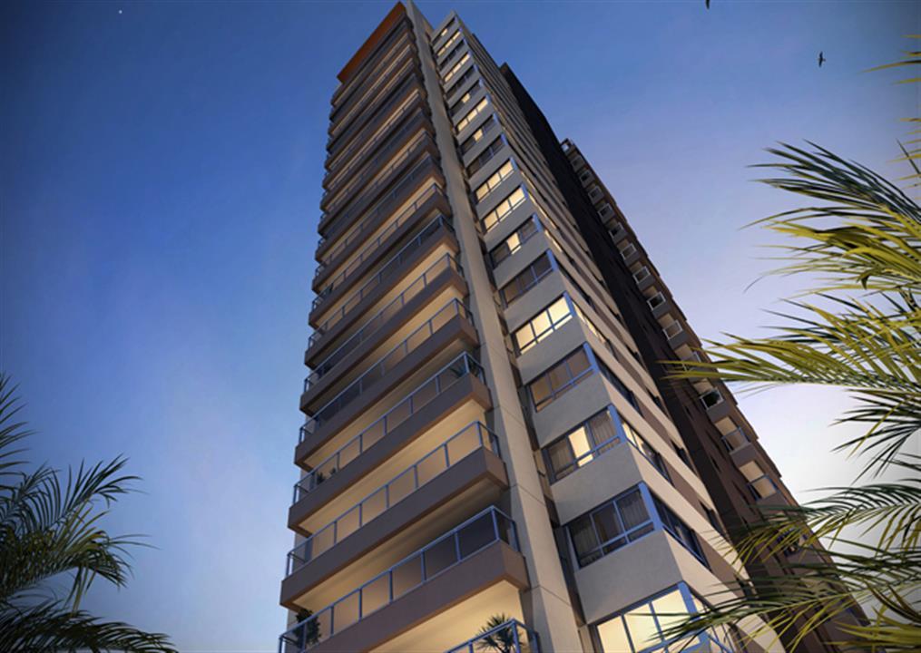 Fachada | Tom 1102 – Apartamentono  Campo Belo - São Paulo - São Paulo