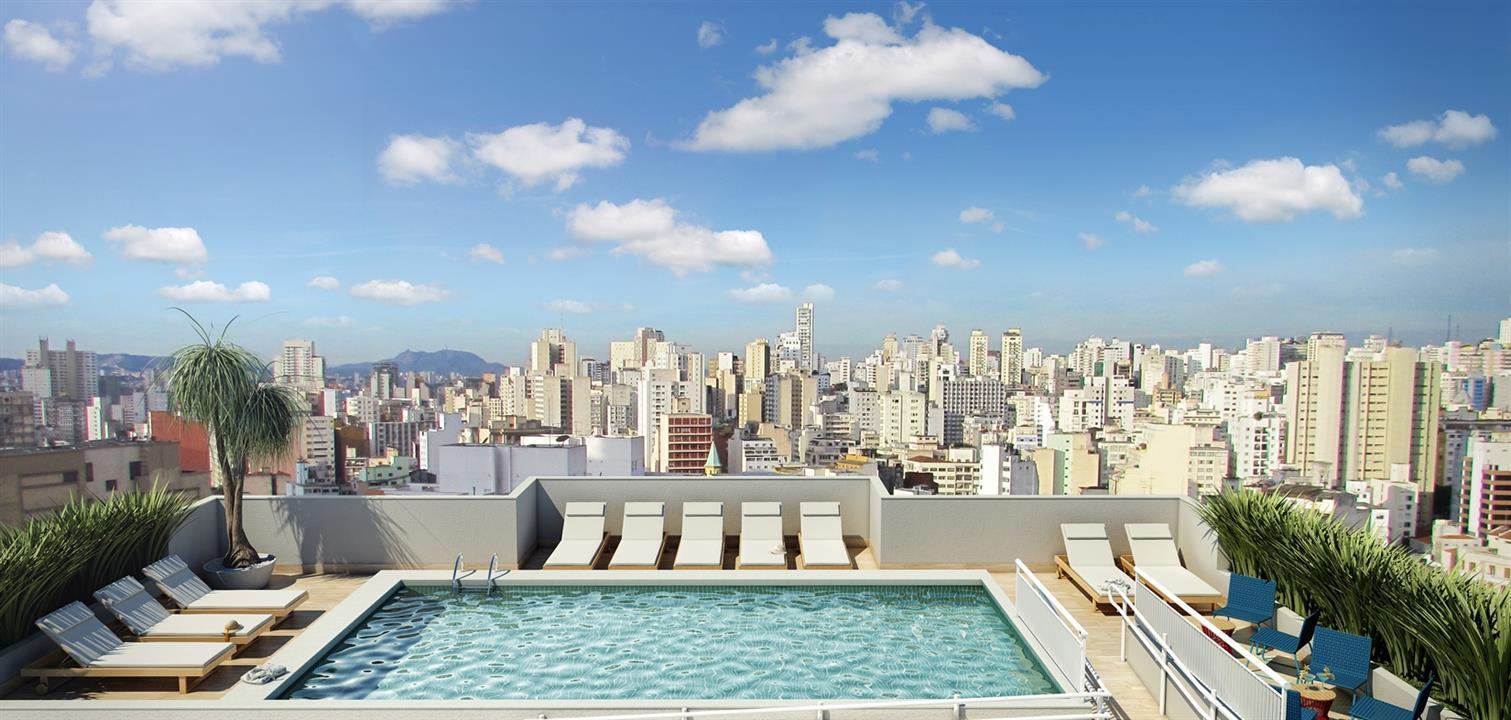 Vibe República de 1 dormitório em Centro - República, São Paulo - SP