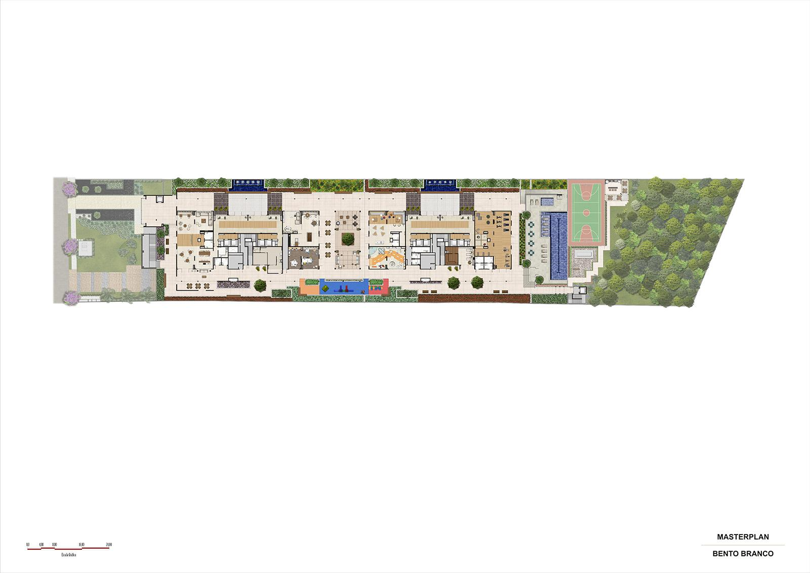 IMPLANTACAO | Panamerica Brickell – Apartamento em  Santo Amaro - São Paulo - São Paulo
