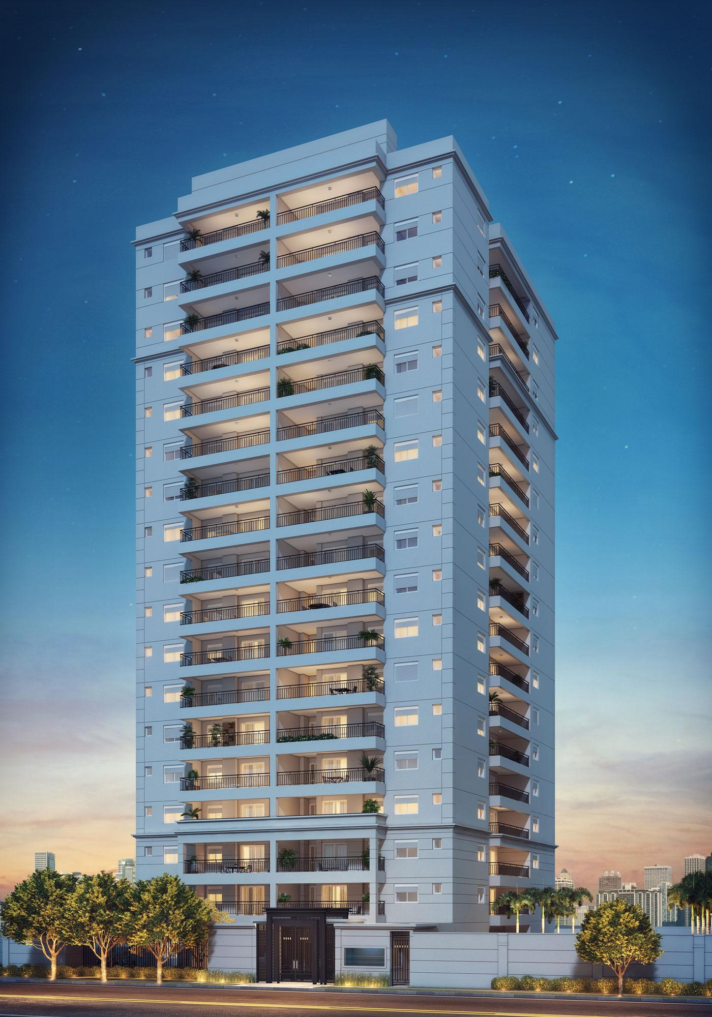 Fachada | Cyrela Classic Lapa – Apartamentona  Lapa - São Paulo - São Paulo
