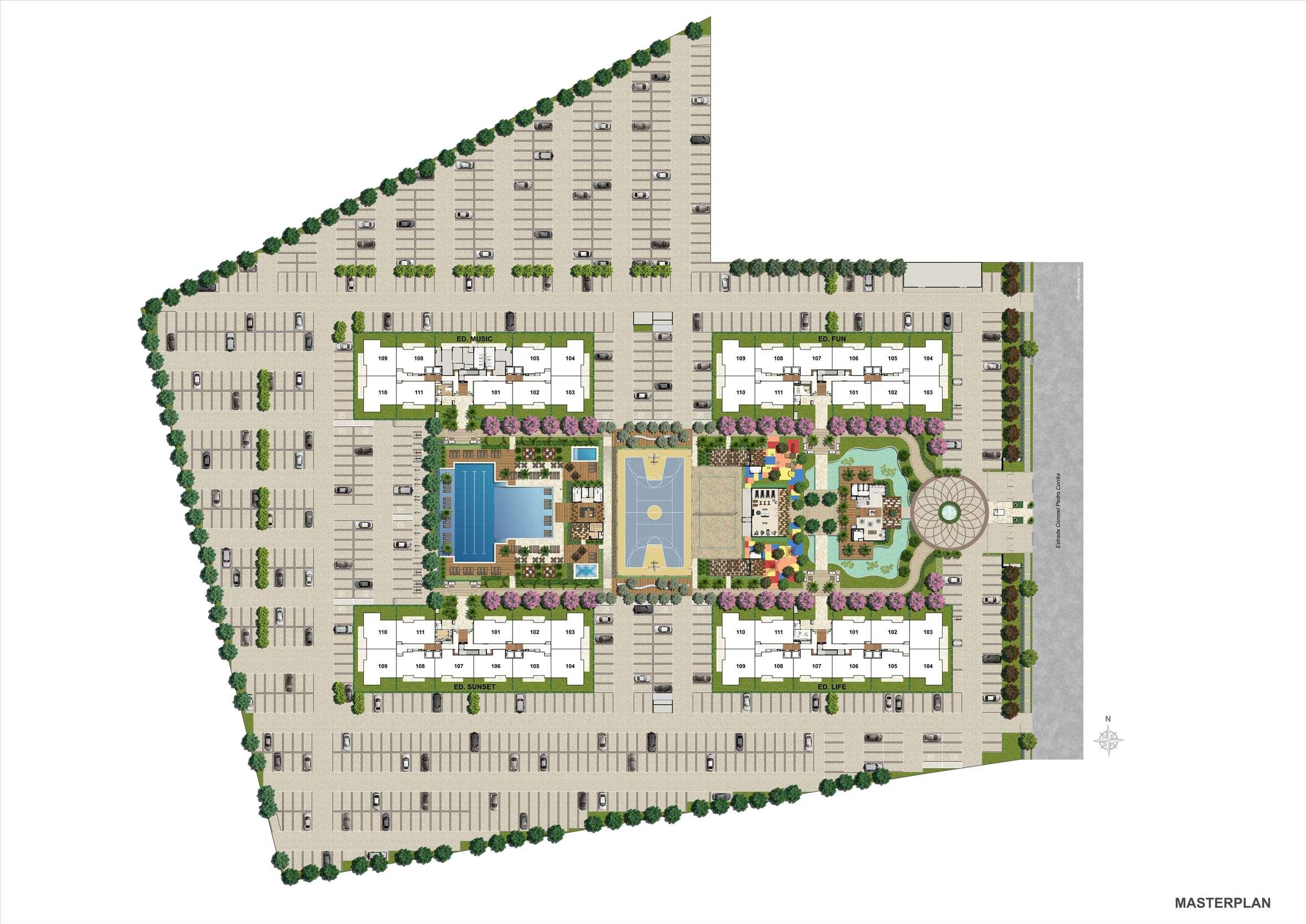 MASTERPLAN | RJZ Cyrela Like Residencial Club – Apartamento da  Barra Olímpica - Rio de Janeiro - Rio de Janeiro
