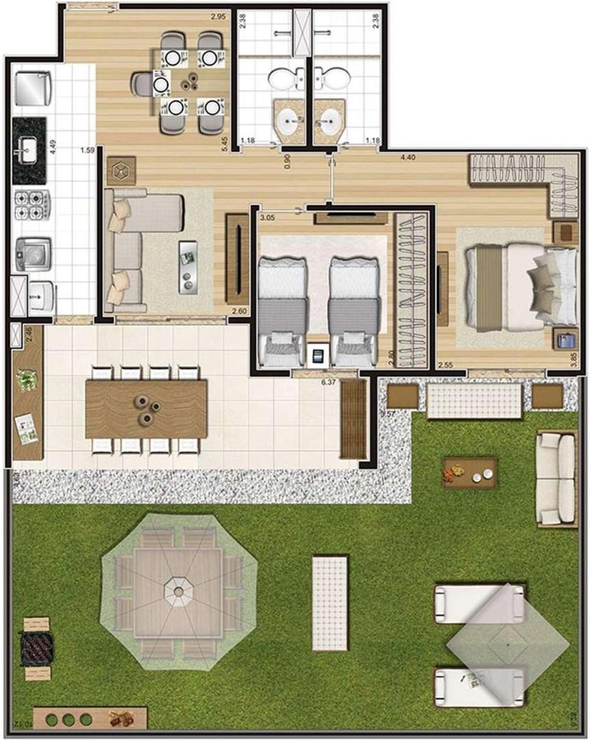 Cyrela Cypriani 955 Ipiranga de 2 a 3 dormitórios em Ipiranga, São Paulo - SP