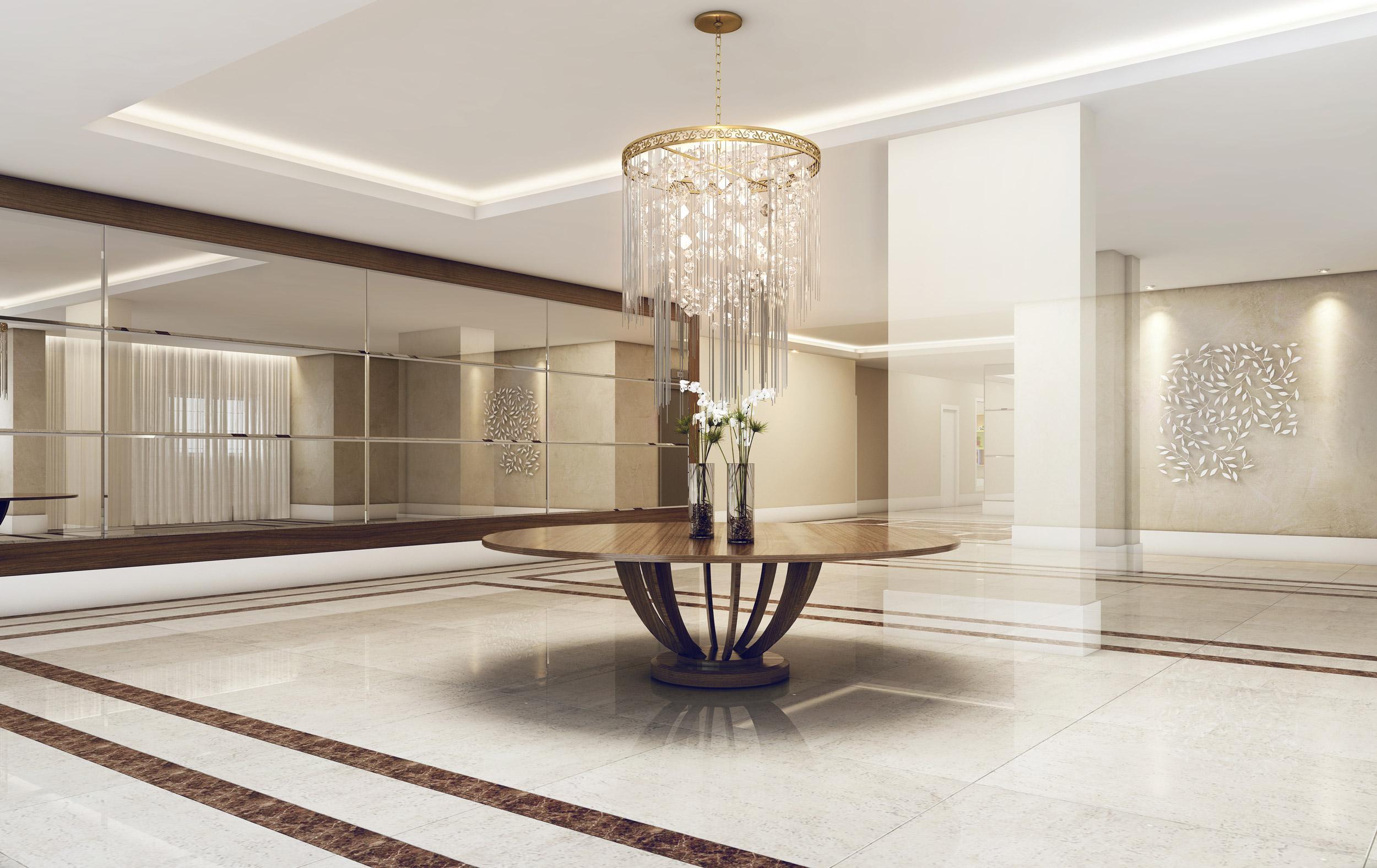 Lobby | Cyrela Gran Cypriani – Apartamentono  Ipiranga - São Paulo - São Paulo
