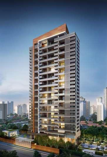 Fachada | One Sixty – Apartamentona  Região da Faria Lima - São Paulo - São Paulo