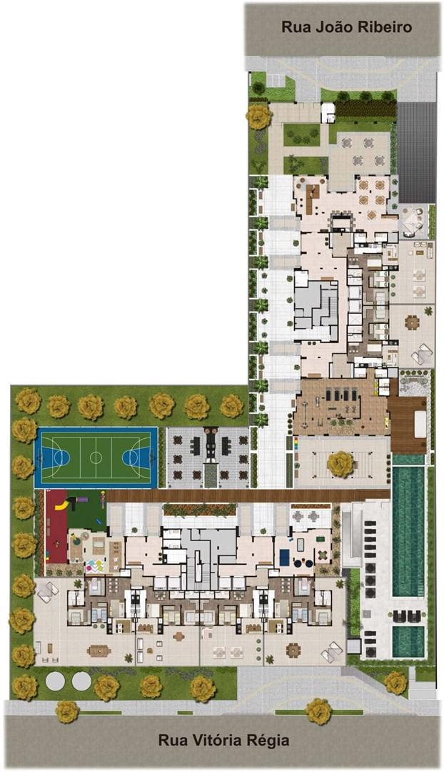 Cyrela Heredità de 2 a 3 dormitórios em Santo André - Campestre, Santo André - SP