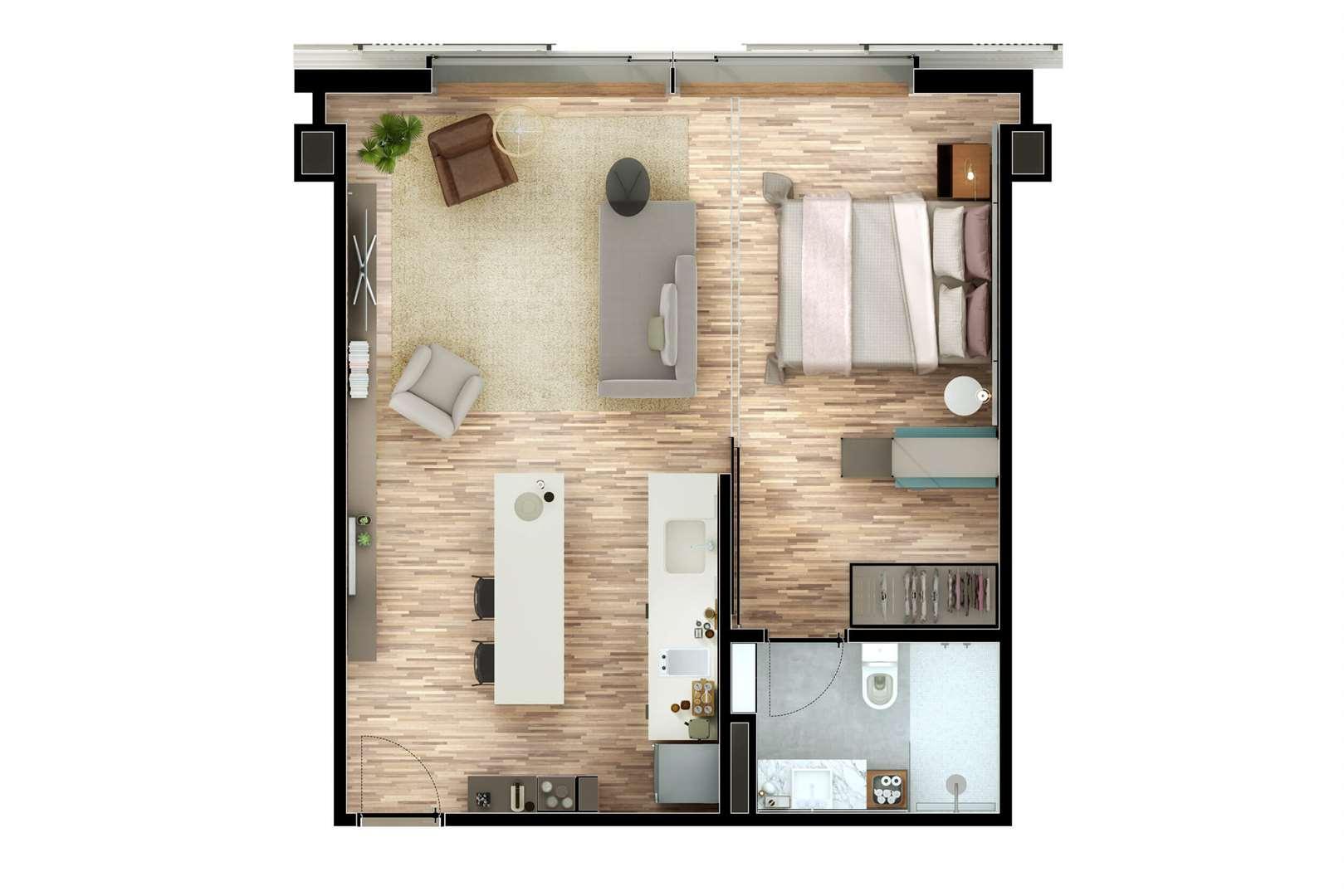 Nomad de 1 a 3 dormitórios em Moema, São Paulo - SP