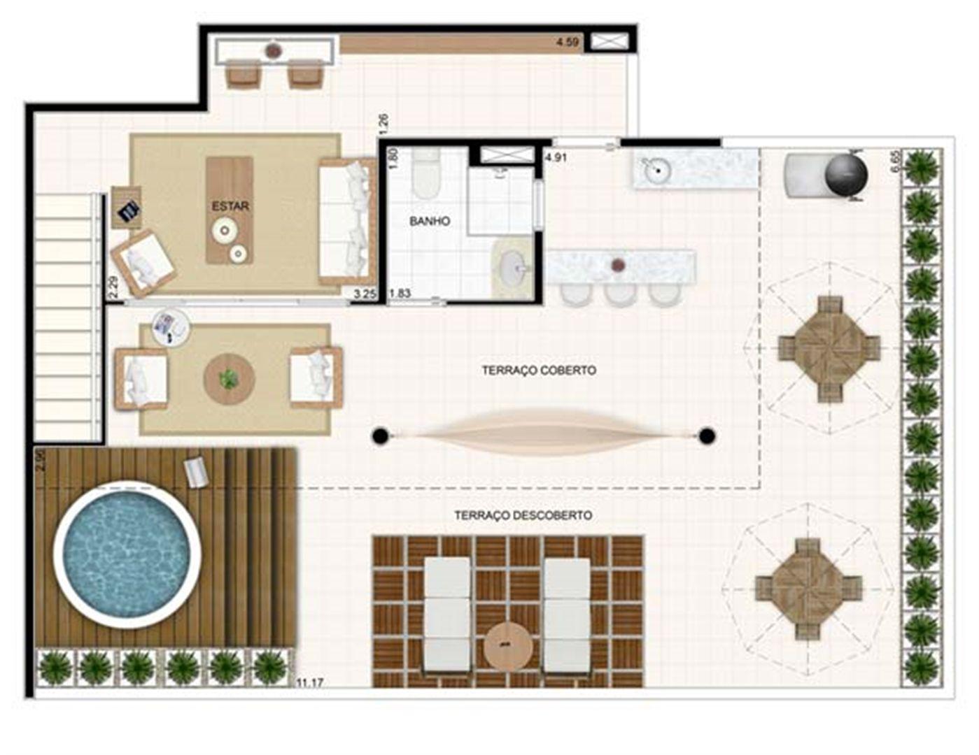 Duplex Superior 176,57m² | Vita 2 Residencial Clube – Apartamento no  Pitimbu - Natal - Rio Grande do Norte