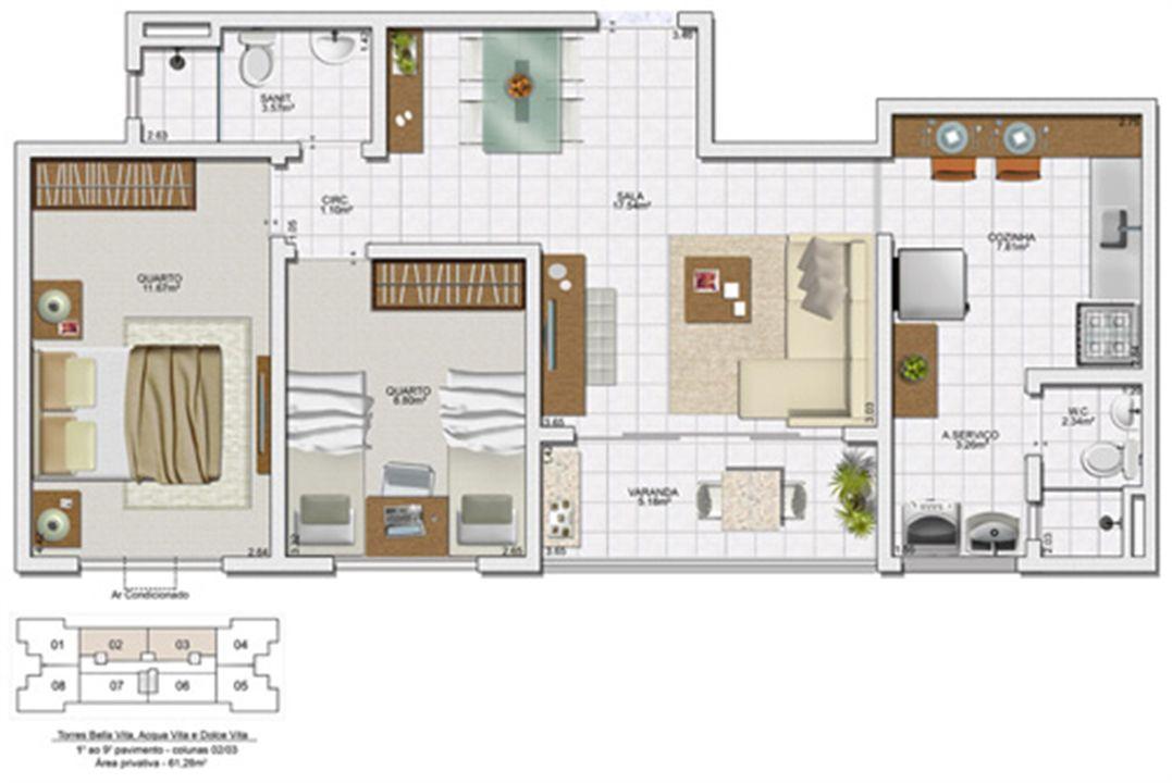 | Vita Morada Clube – Apartamentoem  Lauro de Freitas - Salvador - Bahia