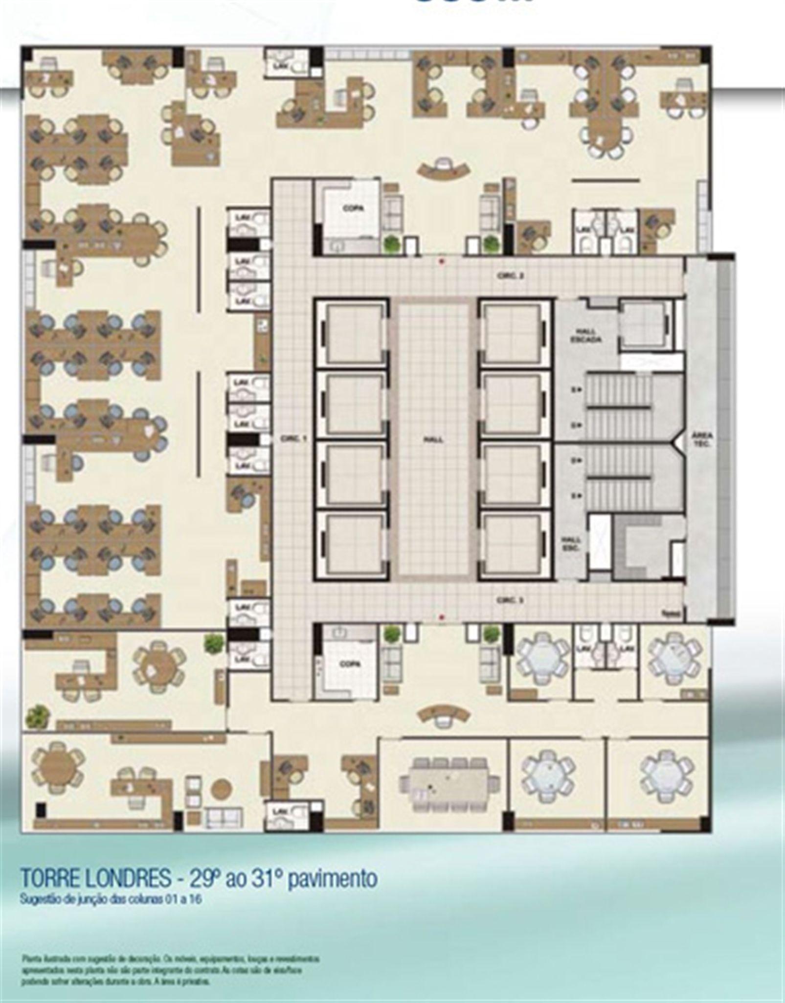 Espaço coorporativo 558 m² | CEO Salvador Shopping – Salas Comerciais  Ao lado do Salvador Shopping - Salvador - Bahia