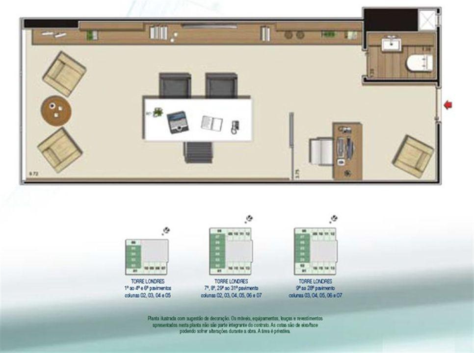 Espaço Empresarial 36,30 m² | CEO Salvador Shopping – Salas Comerciais  Ao lado do Salvador Shopping - Salvador - Bahia