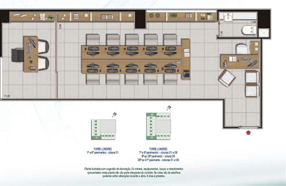 Espaço Empresarial 46,05 m² | CEO Salvador Shopping – Salas Comerciais  Ao lado do Salvador Shopping - Salvador - Bahia