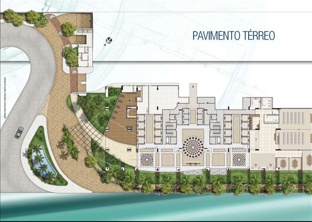 Implantação Pavimento Térreo | CEO Salvador Shopping – Salas Comerciais  Ao lado do Salvador Shopping - Salvador - Bahia