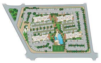Perspectiva Ilustrada da Implantação   Vita Residencial Clube Recife – Apartamento em  Imbiribeira - Recife - Pernambuco