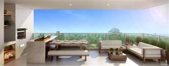 Perspectiva ilustrada do terraço