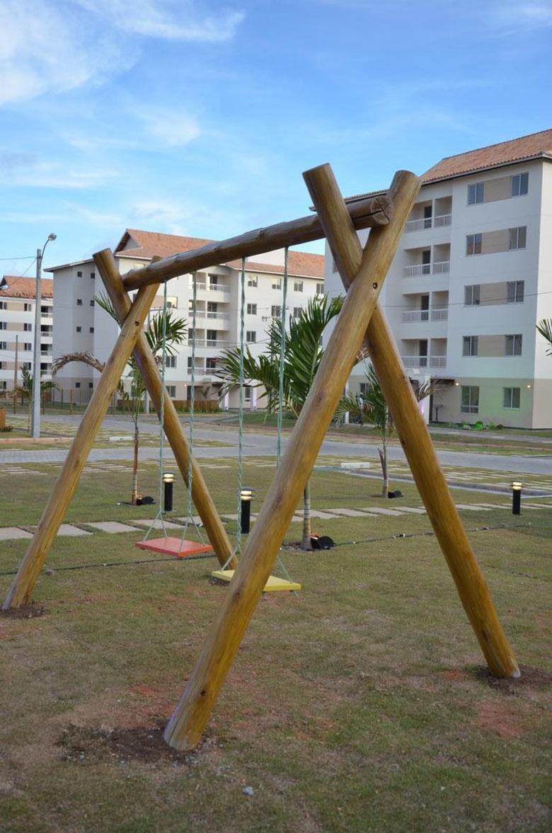 Imóvel pronto   Reserva Parque Residencial – Apartamentono  Centro - Camaçari - Bahia