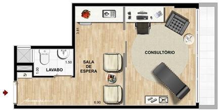 psicologia   Infinity Prime Offices – Salas Comerciais no  Cabral - Curitiba - Paraná