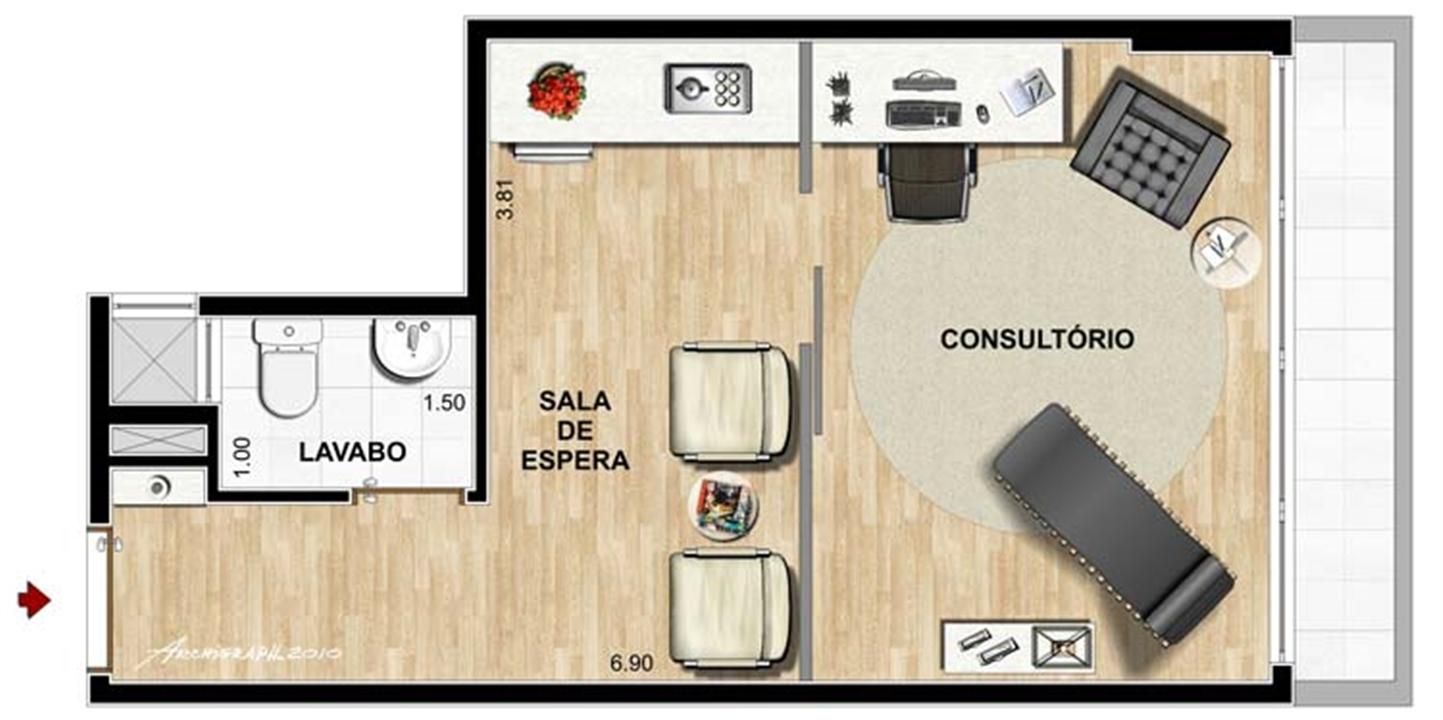 psicologia   Infinity Prime Offices – Salas Comerciaisno  Cabral - Curitiba - Paraná