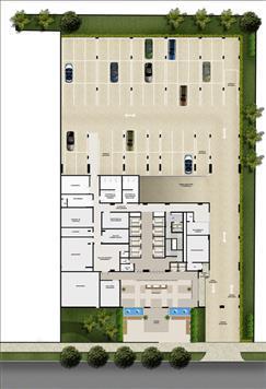 Implantação pavimento térreo | Mirai – Salas Comerciais em  Umarizal  - Belém - Pará