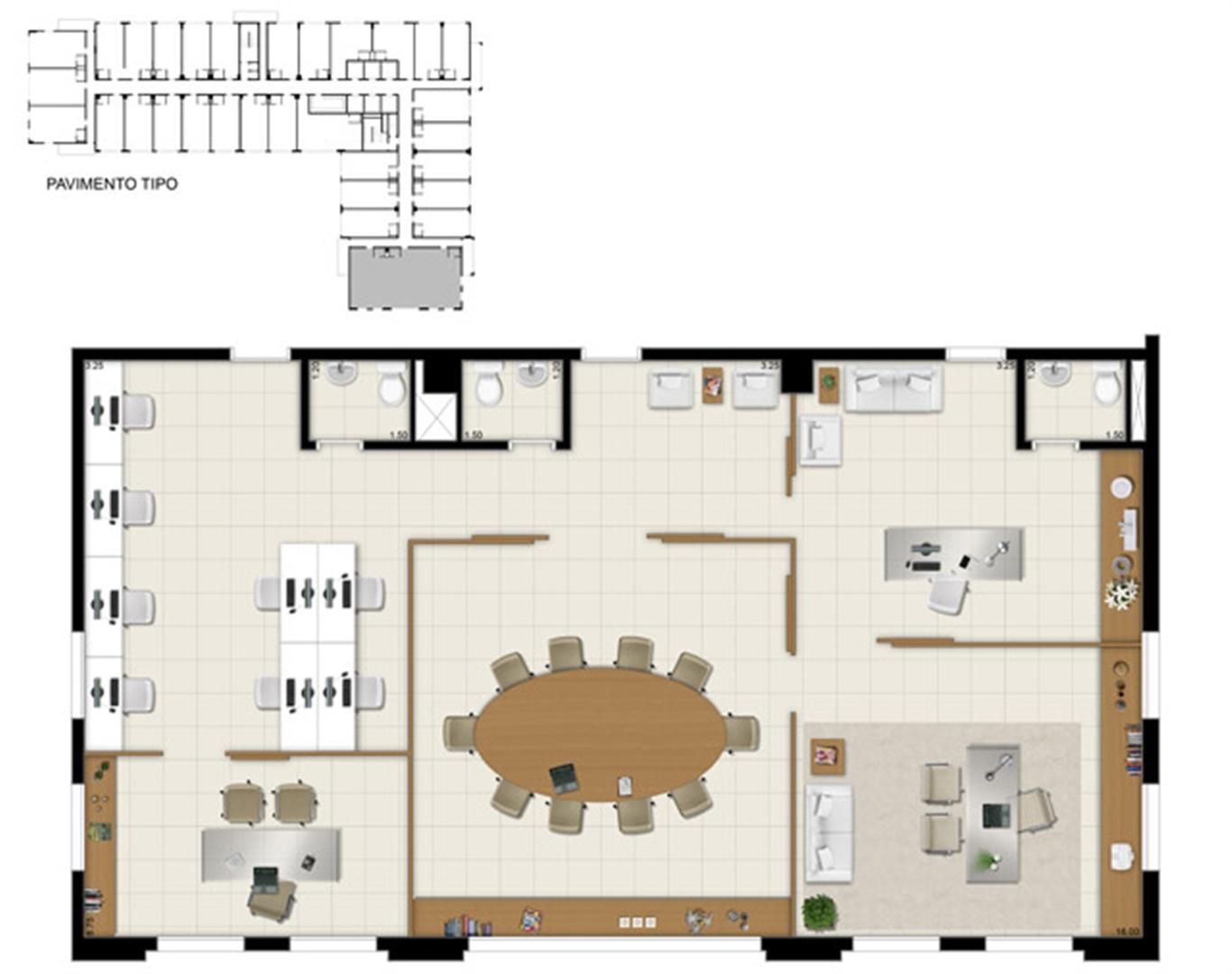 Sala comercial 150 m² - Sugestão de junção | Pátio Jardins – Salas Comerciais em  Altos do Calhau - São Luís - Maranhão