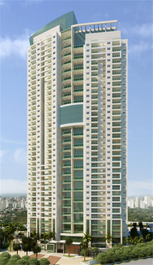 Fachada | Thera Residence – Apartamentona  Berrini - São Paulo - São Paulo