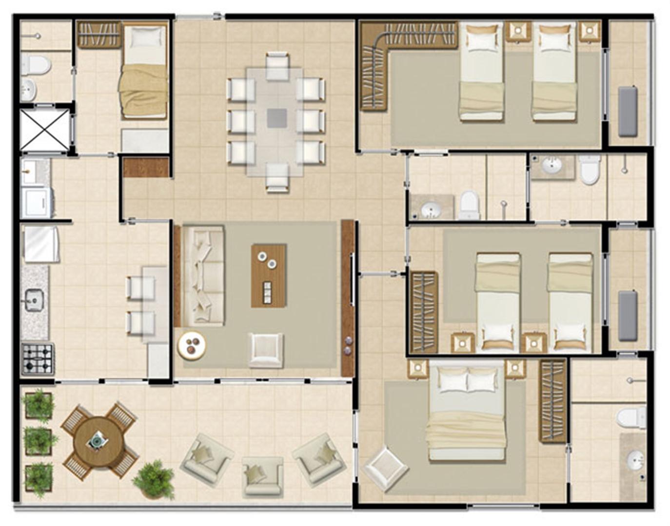 Apartamento Solar - 118 m² | Mandara Lanai – Apartamento no  Porto das Dunas - Aquiraz - Ceará