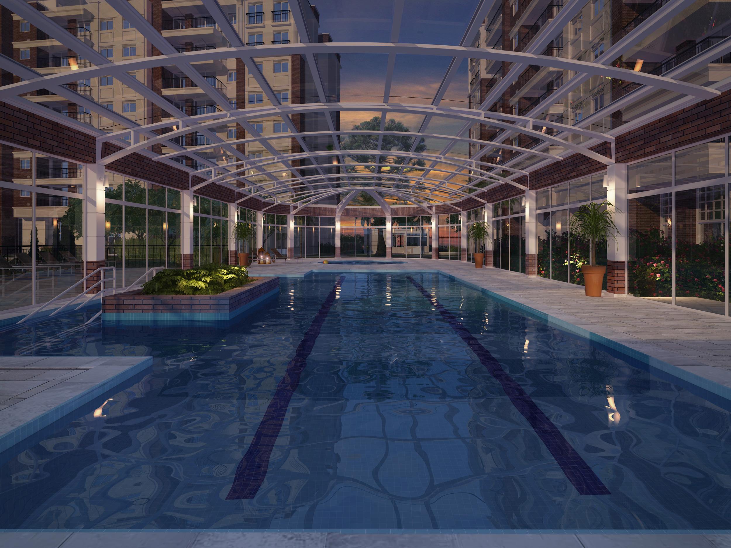 Área Comum | WestSide Comfort Residences – Apartamentono  Vila Izabel  - Curitiba - Paraná