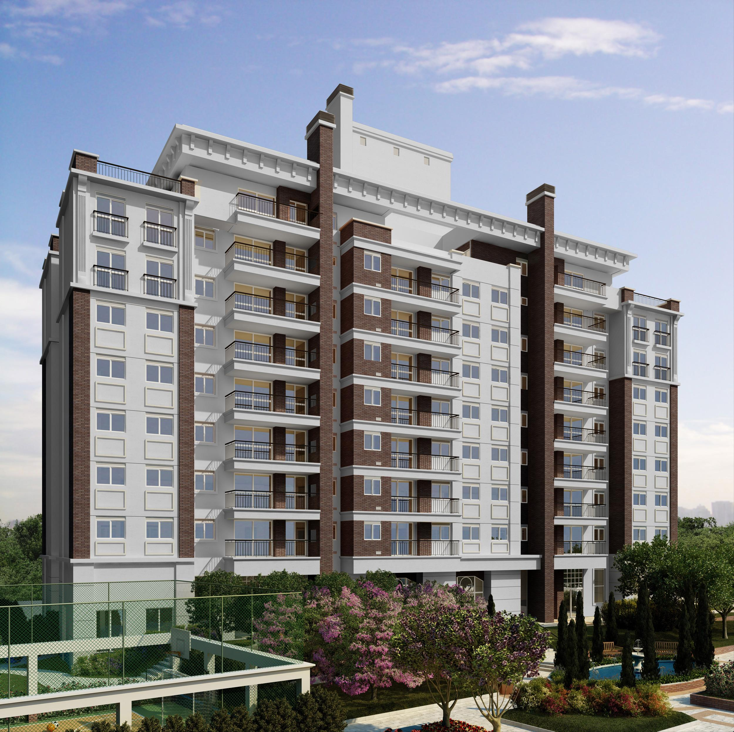 Fachada | WestSide Comfort Residences – Apartamentono  Vila Izabel  - Curitiba - Paraná