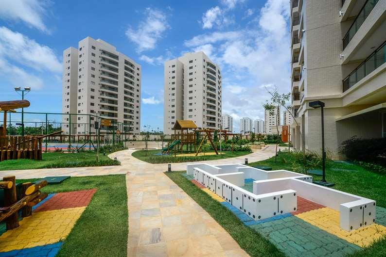 Imóvel pronto | Jardim de Lombardia – Apartamentoem  Altos do Calhau - São Luís - Maranhão