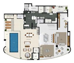 Duplex Inferior | Diamond LifeStyle – Apartamento no  Jardim Goiás - Goiânia - Goiás