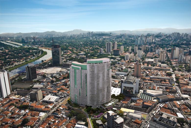 Fachada | Thera Faria Lima Pinheiros Office – Salas Comerciaisem  Pinheiros - São Paulo - São Paulo