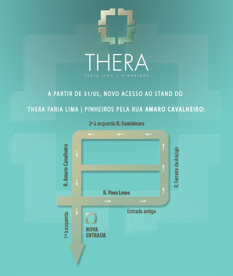 Stand de Vendas Thera Faria Lima   Thera Faria Lima Pinheiros Office – Salas Comerciais em  Pinheiros - São Paulo - São Paulo