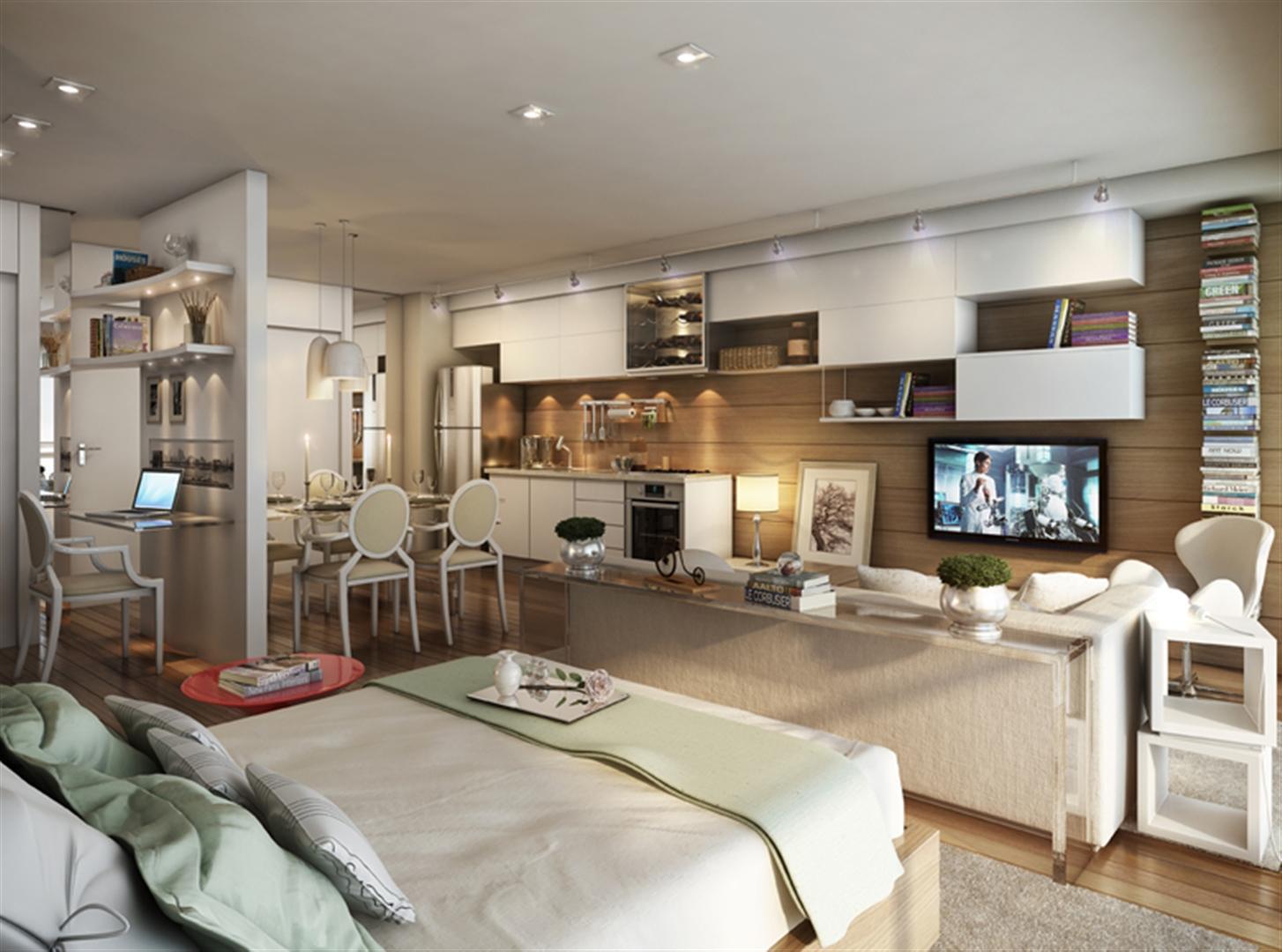 Sala de Estar | Home Boutique – Apartamentono  Brooklin - São Paulo - São Paulo