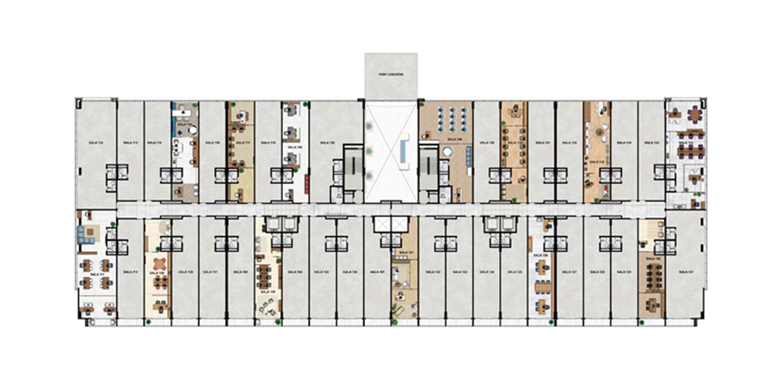 1° Pavimento   Vega – Salas Comerciaisna  Asa Norte  - Brasília - Distrito Federal