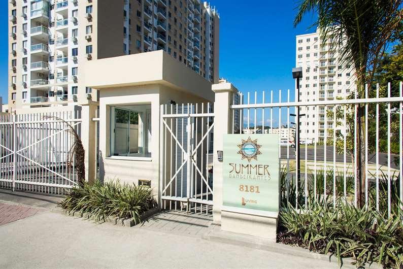 Fachada | Summer Bandeirantes Residencial – Apartamentoem  Jacarepaguá - Rio de Janeiro - Rio de Janeiro