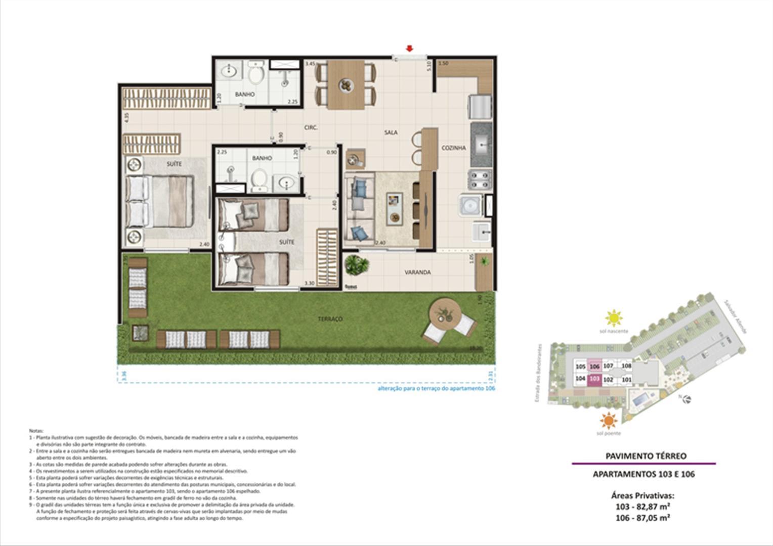 Apartamento 2 quartos tipo 02 - Terraço | Live Bandeirantes All Suites – Apartamento em  Jacarepaguá - Rio de Janeiro - Rio de Janeiro