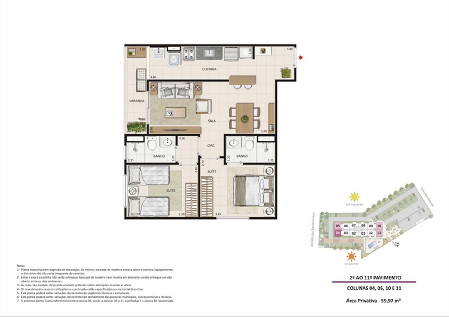 Apartamento 2 quartos tipo 03 | Live Bandeirantes All Suites – Apartamento em  Jacarepaguá - Rio de Janeiro - Rio de Janeiro