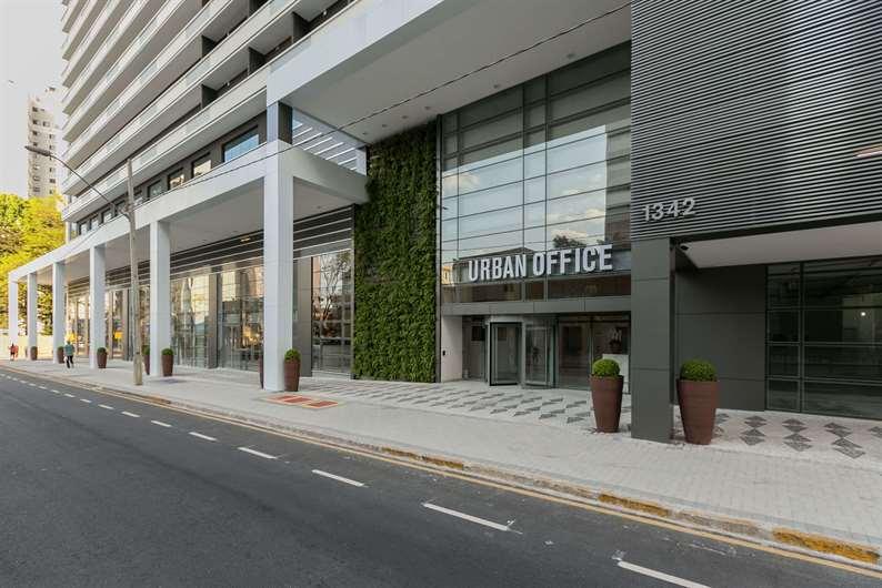 Fachada | Urban Office Curitiba – Salas Comerciaisno  Cabral - Curitiba - Paraná