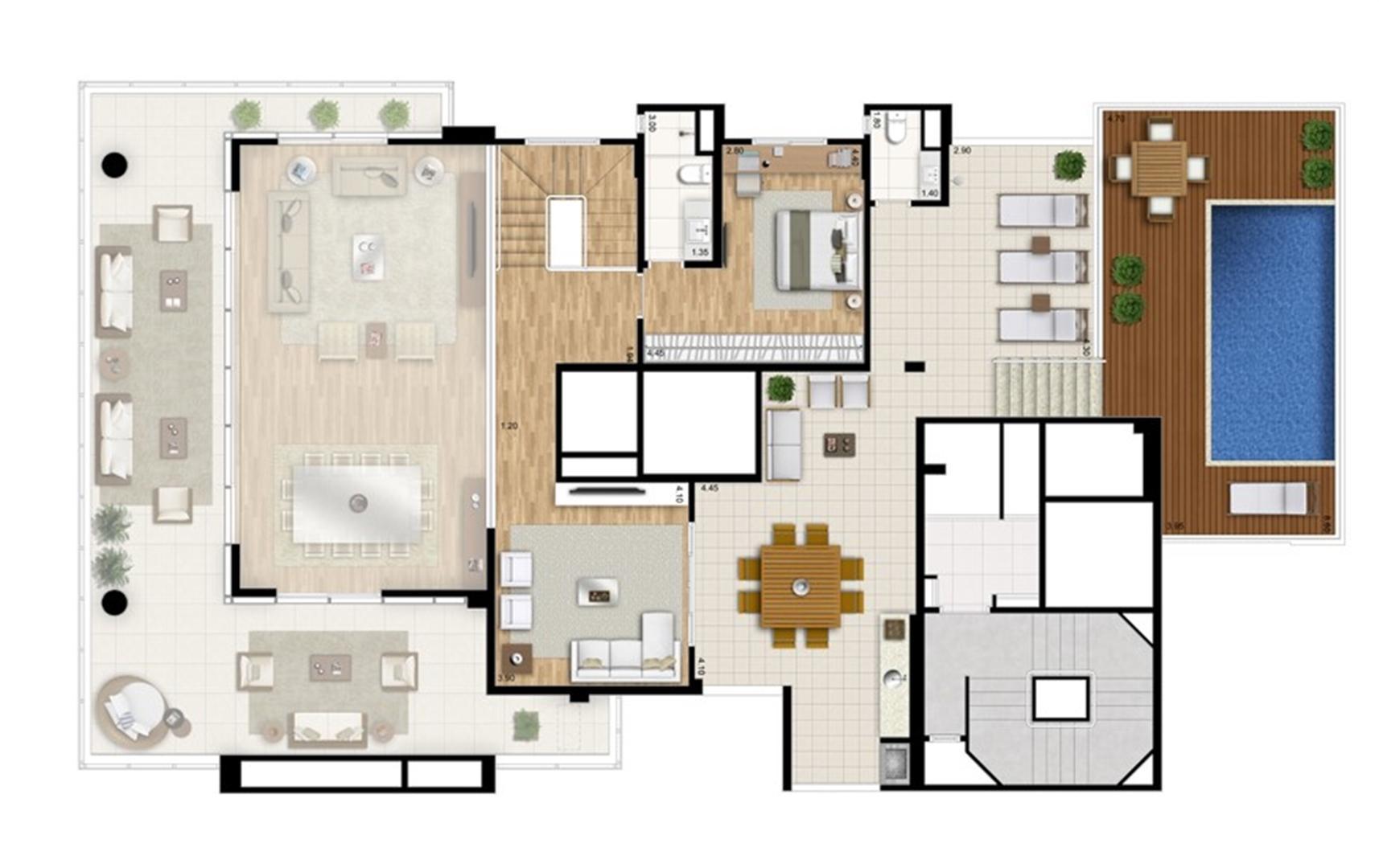 Cobertura duplex superior - Torre Nero | Cyrela Essenza Moema – Apartamento em  Moema - São Paulo - São Paulo