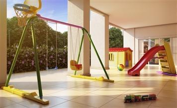 Ilustração Artística do Playground Coberto
